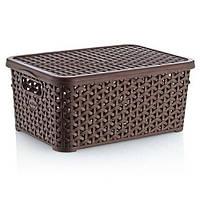 Корзина для хранения Hobbylife 10 литров 04 1256-4 коричневая