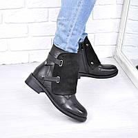 Ботинки женские Winter черные 3697 ЗИМА 41 размер, ботинки женские