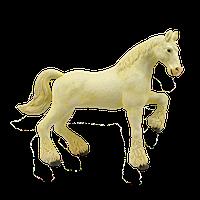 Объемный пазл Лошадь тяжеловоз белая, 26529, 4D Master