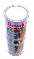 Молотковая краска (эмаль) серая 0.75 Dewilux (DYO) HAMMERSCHLAG