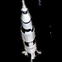 Объемный пазл Ракета Аполлон 11, 26373, 4D Master