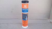 Синтетическая смазка, комплексная, литиевая WOLVER LITOPLEX EP 2 (NLGI 2) синяя 0.4л