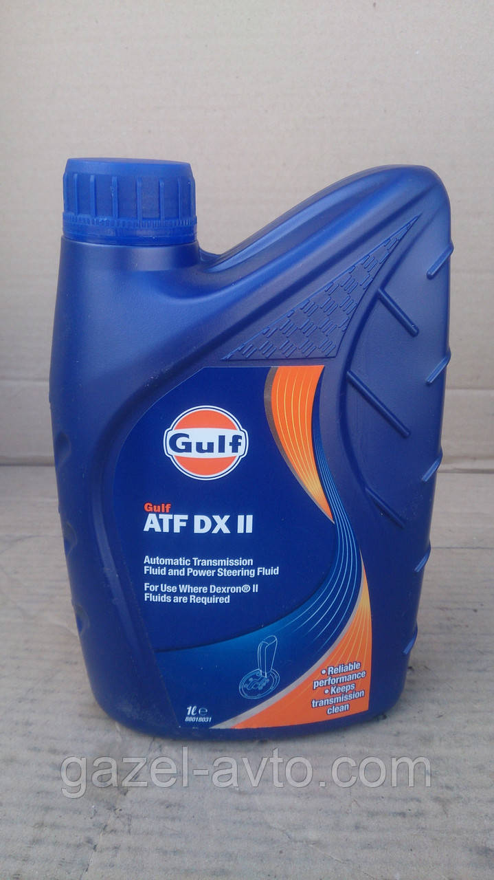 Масло АКПП Декстрон GULF ATF DX II 1л