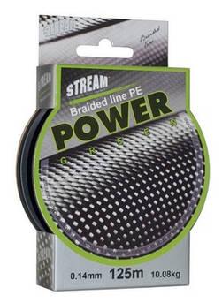 Шнур Stream Power Green 0,08mm 125m