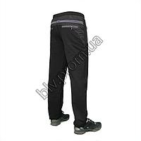 Детские брюки из трикотажа с вставками по бокам AZ1345D