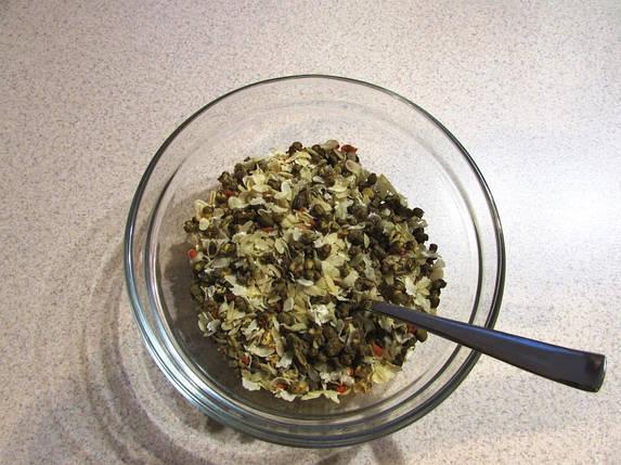 Бобы с рисом, овощами и специями (Кичри) ТМ Харчі, фото 2