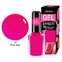 Лак для ногтей Jerden gel effect 9мл №12 fruit jelly