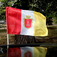 Флаг Одессы автомобильный, фото 1
