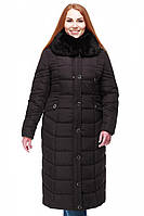 Пальто пуховик зимнее