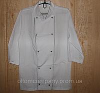 Халат ( куртка ) повара габардин р.р. 40-64