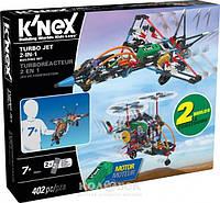 Набор для конструирования K'NEX Турбореактивный самолет 2-в-1