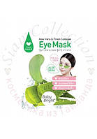 Маска-патч под глаза с экстрактом алоэ и коллагеном Aloe Vera & Fresh Collagen Eye Mask Baby Bright