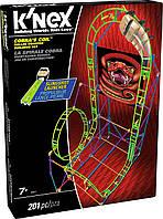 Американские горки - Кольцо кобры (201 деталь), набор для конструирования, K`nex