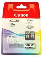 Картридж CANON (PG-510/CL-511) Pixma MP240/250/260/270/272/280/MX320/330 Multipack (2970B010)