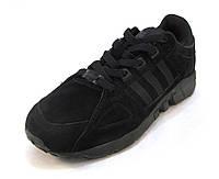 Кроссовки Adidas замшевые черные унисекс (р.37,38,40,41)