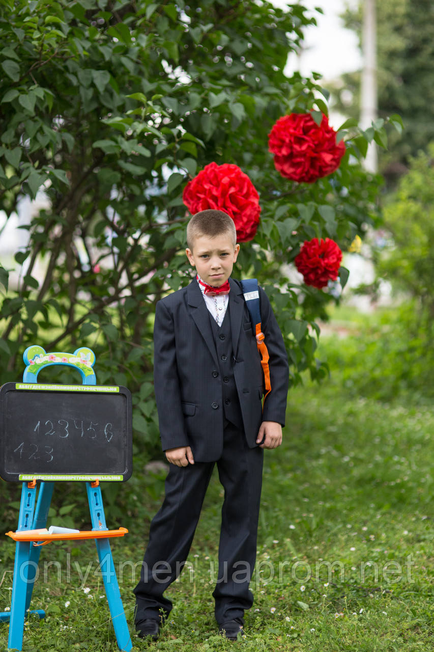 Классический костюм, одежда для мальчиков 140-164см