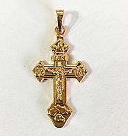 Крест нательный, ювелирная бижутерия Xuping