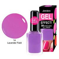 Лак для ногтей Jerden gel effect 9мл №14 lavender field, фото 1