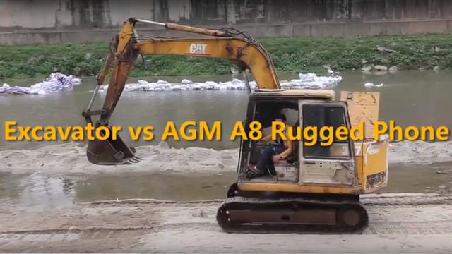 AGM A8 победил трактора!