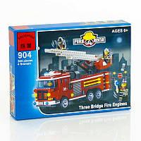 """BRICK 904 (36) """"Пожарная охрана"""", 364 дет, в коробке СОБРАННЫЙ"""