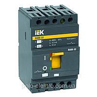 Автоматический выключатель ВА 88-32 3Р  125А 25 кА  ИЭК