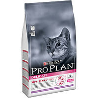 Про План (Pro Plan®). Сухой  корм для кошек с чувствительным пищеварением, с индейкой 1.5кг