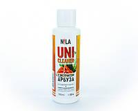 Nila Uni -Cleaner (жидкость для снятия гель-лака,акрила,очищения кистей) арбуз 100мл.