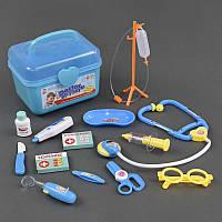 Доктор 8015 А (48) градусник и стетоскоп работает от батареек, в чемодане