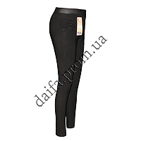 Стрейчевые брюки БАТАЛ 711-1 на искусственном меху (р-р 52-56) оптом со склада в Одессе