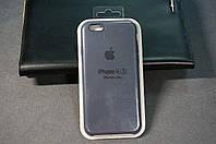Чехол (накладка) Apple iPhone 6/6s, Original Silicon Case цвет Charcoal grey (тёмно-серый)