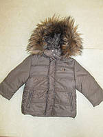 Зимняя куртка Англия  для мальчика 18 месяцев
