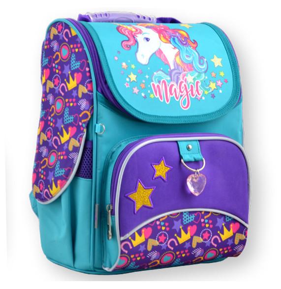 Рюкзак каркасный  1 Вересня 555198 H-11 Unicorn, 31*26*14