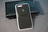 Чехол (накладка) Apple 7/8+ айфон 7/8 плюс 7/8plus, Original Silicon Case цвет Black (черный)