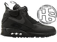 7809495b Мужские кроссовки Nike Air Max 90 Sneakerboot Black 684714-002 42