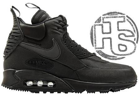 Мужские кроссовки Nike Air Max 90 Sneakerboot Black 684714-002, фото 2 6e1c28e7900