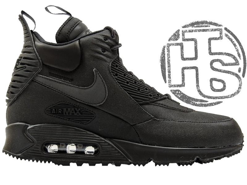 352bd754 Мужские кроссовки Nike Air Max 90 Sneakerboot Black 684714-002 -  Интернет-магазин