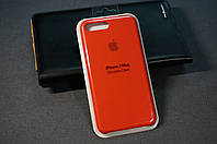 Чехол (накладка) Apple 7/8+ айфон 7/8 плюс 7/8plus, Original Silicon Case цвет Red (красный)