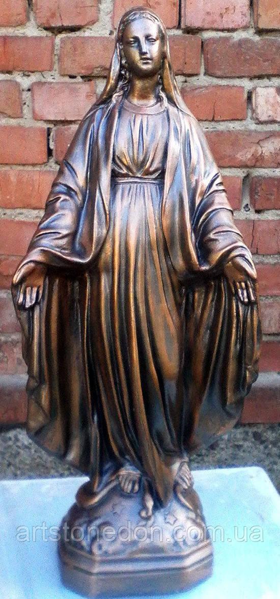 Cкульптуры из бетона. Статуя Божьей Матери №7 45 см