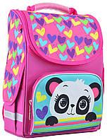 Рюкзак каркасный  Smart 554507 PG-11 Panda, 34*26*14