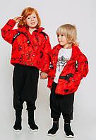 Куртка красная демисезонная детская JoJo
