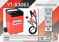 Зарядное устройство с функцией запуска 12/24В., 50-340А.,  YT-83061