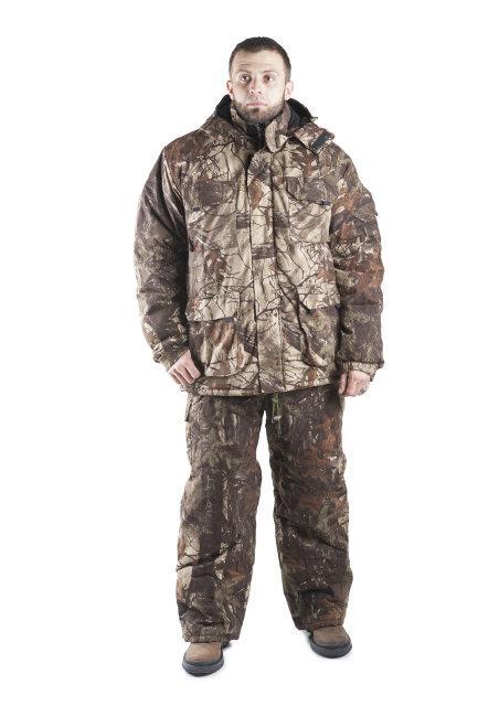 Зимний костюм, дубовый лес, хлопковый