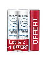 Bioderma Atoderm Lips Moisturising Stick 2 + 1 Free ( Увлажняющий бальзам для губ )