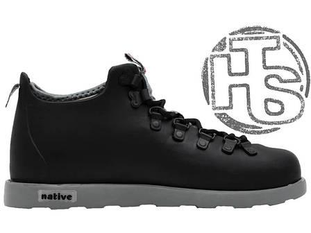 Мужские ботинки Native Fitzsimmons Boots Black/Grey, фото 2