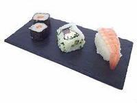 25 х 9,3 см. Сланцевая тарелка под суши роллы и десерты