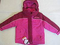 Зимняя термокуртка Англия RODEO для девочки 2 года, рост 92 см.,