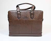 Портфель деловой коричневого цвета MFB
