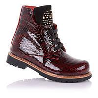 Демисезонные ботинки для девочек Cezara Rosso 110091