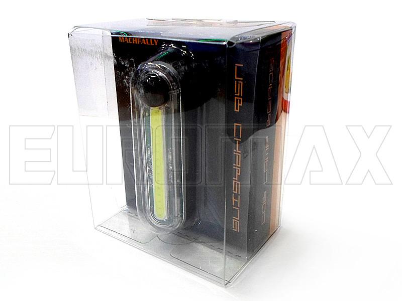 Фонарь велосипедный USB белый C12-300-W