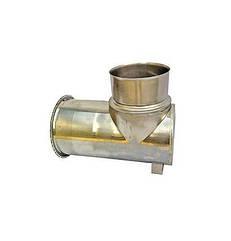 Одностінна Ревізія Ø120 мм для димарів з нержавіючої сталі